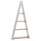 Wooden triangle shelf Lynn , L65cm, B17cm, H137cm,